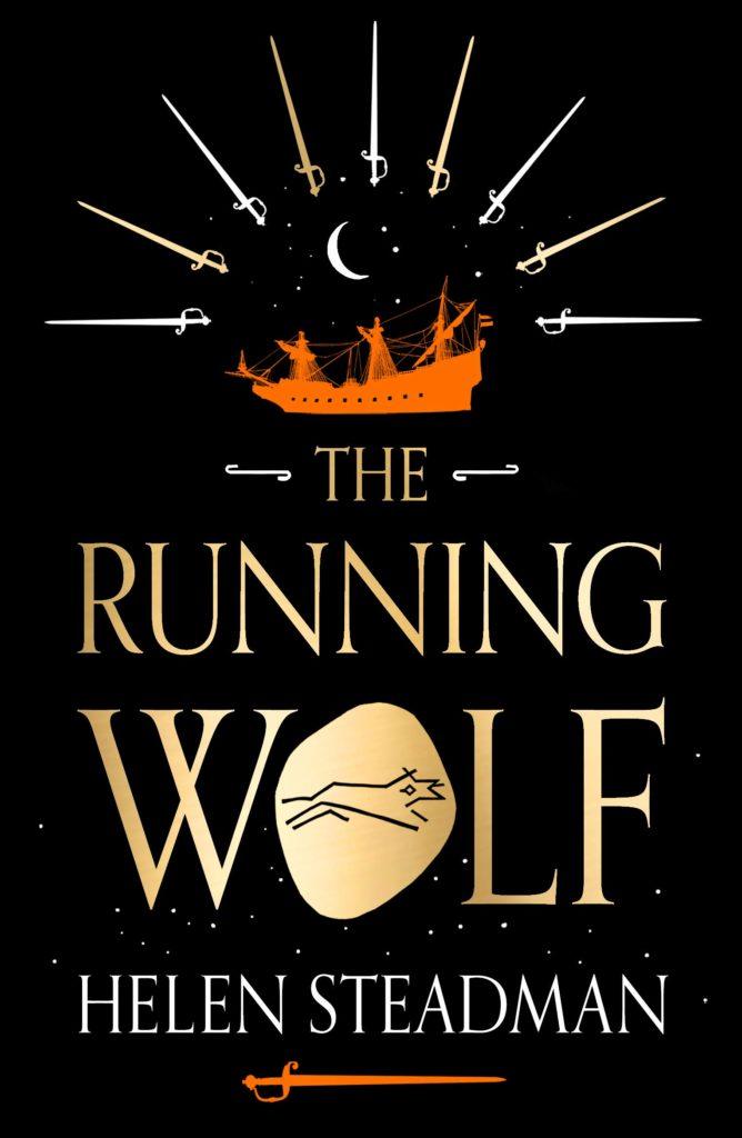 The Running Wolf by Helen Steadman