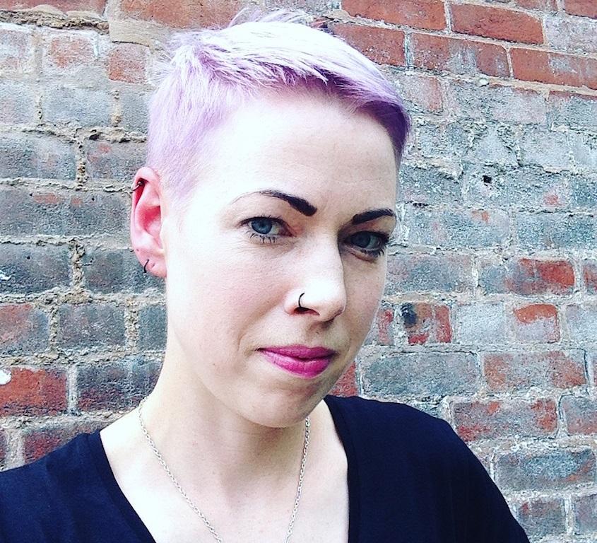 Writer Helen Mort